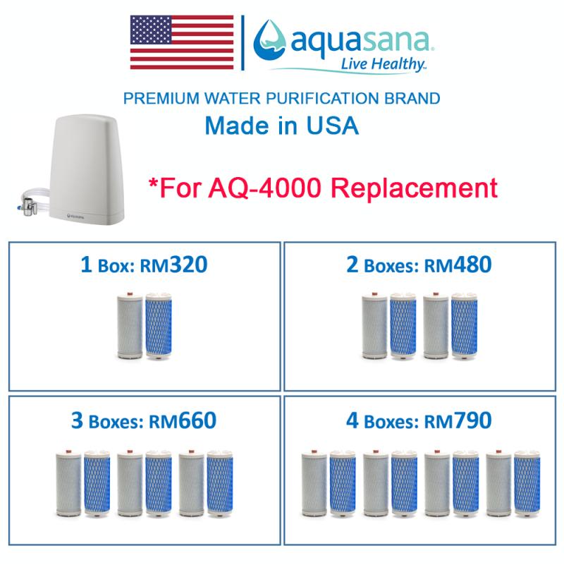 AQUASANA AQ-4035 Replacement Cartridge (For Aquasana AQ-4000)