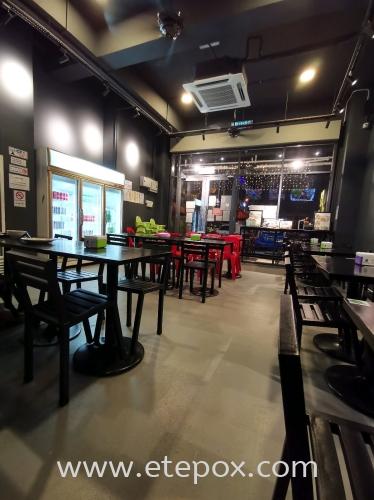 Petai King Restaurant with Epoxy Coating