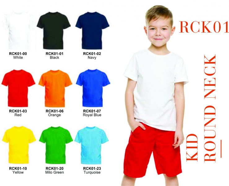LF-RCK01 ROUND NECK COTTON LE'FONSE Penang, Malaysia, Bayan Lepas Supplier, Suppliers, Supply, Supplies | Coral Gift Sdn Bhd