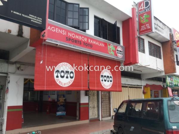 TOTO Blind Printing Curtain & Blinds Selangor, Malaysia, Kuala Lumpur (KL), Klang Supplier, Suppliers, Supply, Supplies | Kok Cane Enterprise