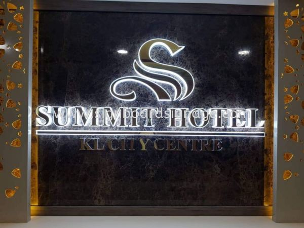 Summit Hotel @ KL City Centre LED ACRYLIC BOX UP LETTERING Klang, Selangor, Malaysia, Kuala Lumpur (KL) Manufacturer, Maker, Supplier, Supply | Dynasty Print Solution