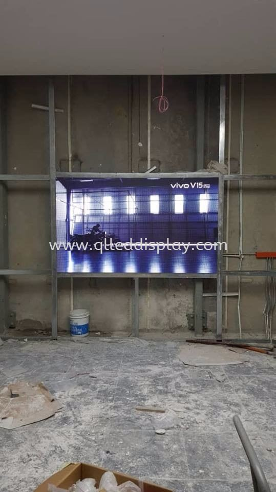 3.96ft x 12.9ft P3 INDOOR LED DISPLAY (FULL COLOUR) P3 INDOOR LED DISPLAY BOARD LED Display Board Johor Bahru (JB), Johor, Malaysia Manufacturer | Q & L LED Display Board Supply