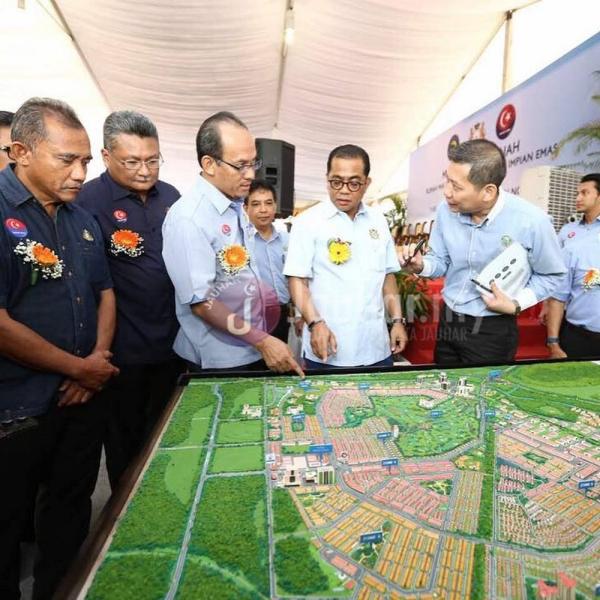 Ground Breaking Ceremony Johor Bahru (JB), Malaysia, Mount Austin Event Planner | Vinz Event & Management