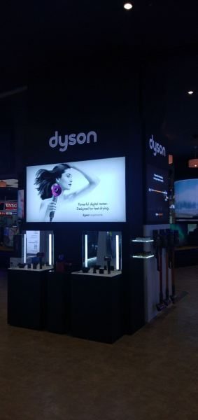 dyson pragin mall m store dyson CORPORATE SIGN Penang, Malaysia, Butterworth Supplier, Suppliers, Supply, Supplies | Maxart Marketing And Supplies
