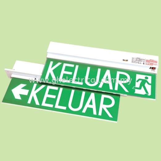 Econlite Led Keluar Sign Econlite LED Lighting Kuala Lumpur (KL), Malaysia Supply, Supplier   G&H Electrical Trading Sdn Bhd