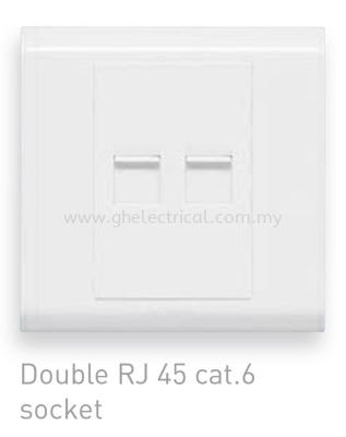 Balanko 2gang cat6 socket