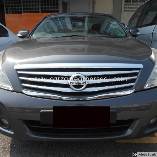 NISSAN TEANA STEERING REPLACE NAPA LEATHER Steering Wheel Leather Cheras, Selangor, Kuala Lumpur, KL, Malaysia. Service, Retailer, One Stop Solution | Carzac Sdn Bhd