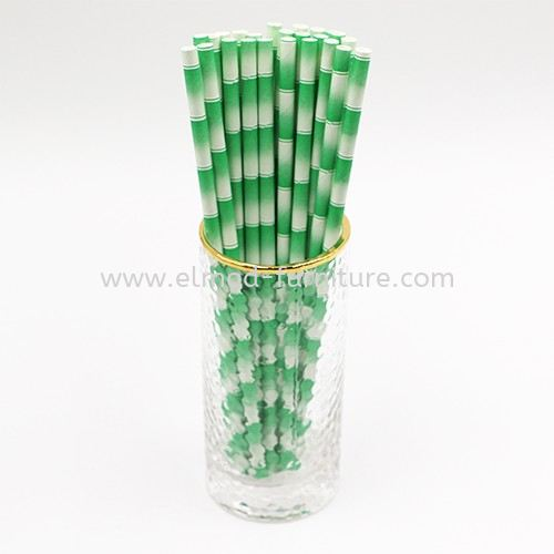Paper Straw Bamboo Print Paper Straw Paper Straw Selangor, Kuala Lumpur (KL), Puchong, Malaysia Supplier, Suppliers, Supply, Supplies   Elmod Online Sdn Bhd
