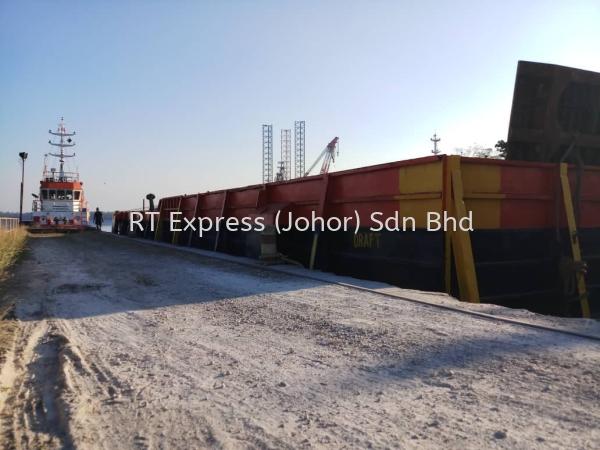 Vessel Cargo Barge Port Agency Johor Bahru, JB, Johor, Malaysia. Service | R.T. Express (Johor) Sdn Bhd