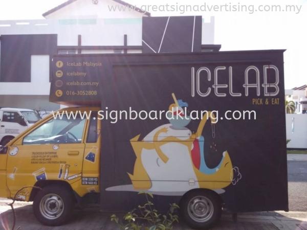Icelab Malaysia TRUCK LORRY STICKER Selangor, Malaysia, Kuala Lumpur (KL), Klang Manufacturer, Maker, Installation, Supplier | Great Sign Advertising (M) Sdn Bhd