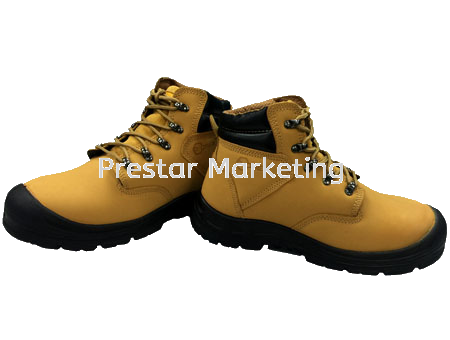 LEATHER SAFETY SHOES MID-CUT #720