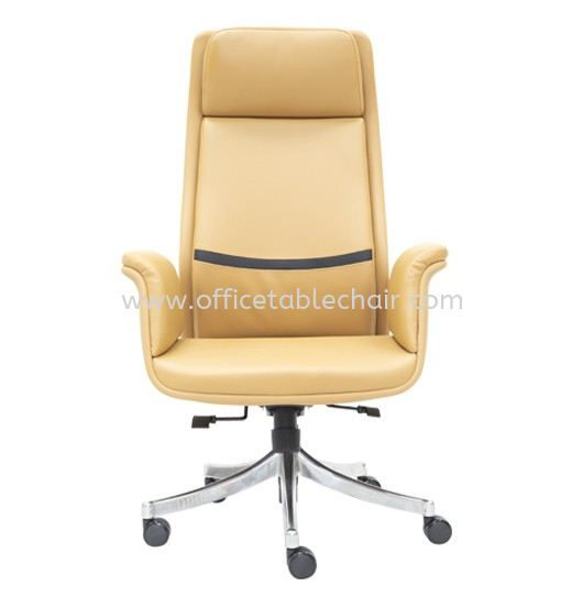 SWANSEA DIRECTOR HIGH BACK LEATHER CHAIR C/W ROCKET ALUMINIUM BASE SWANSEA Director Chair Director Chair Kuala Lumpur (KL), Malaysia, Selangor, Petaling Jaya (PJ) Supplier, Suppliers, Supply, Supplies | Asiastar Furniture Trading Sdn Bhd