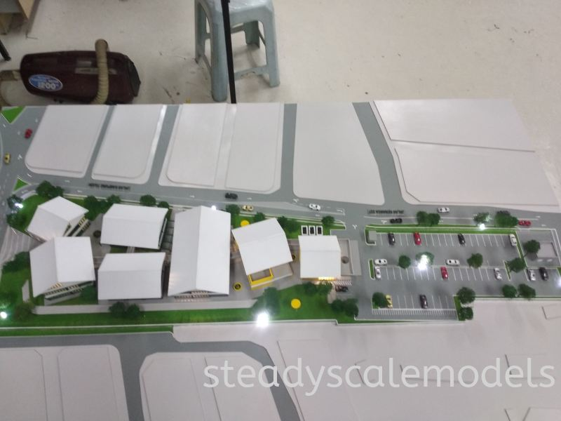 Project K7 Kuala Lumpur (KL), Malaysia, Selangor, Kepong Architectural, Building, Model   Steady Scale Models