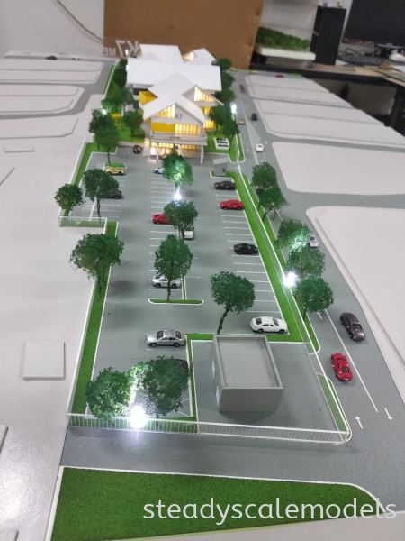 Project K7 Kuala Lumpur (KL), Malaysia, Selangor, Kepong Architectural, Building, Model | Steady Scale Models