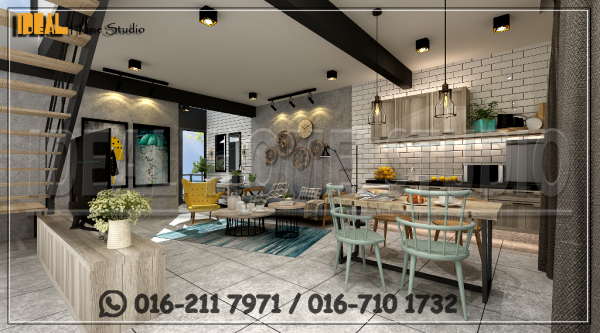 02 Pantry C2. BOUTIQUE HOTEL COMMERCIAL / OFFICE Klang, Selangor, Kuala Lumpur (KL), Malaysia Contractor, Service | Ideal Home Studio