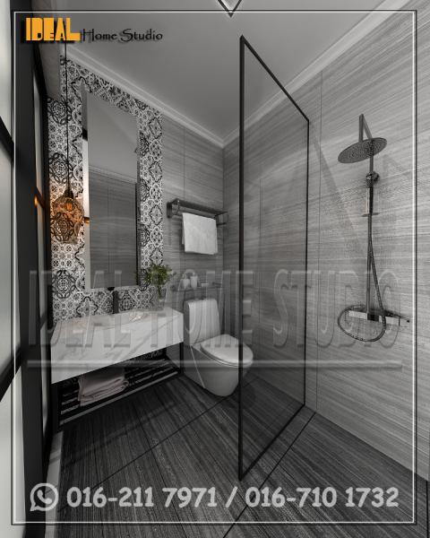 04 Bathroom C4. BOUTIQUE HOTEL COMMERCIAL / OFFICE Klang, Selangor, Kuala Lumpur (KL), Malaysia Contractor, Service | Ideal Home Studio