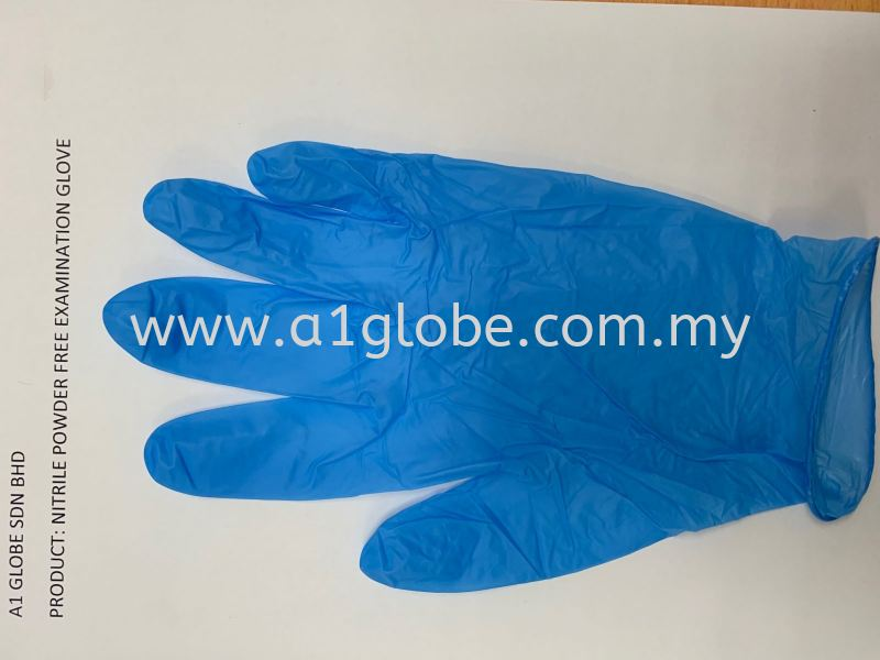 NITRILE BLUE EXAMINATION GLOVE Others Malaysia, Negeri Sembilan, Selangor, Kuala Lumpur (KL), Thailand, China Manufacturer, Supplier, Supply, Supplies | A1 Globe Sdn Bhd