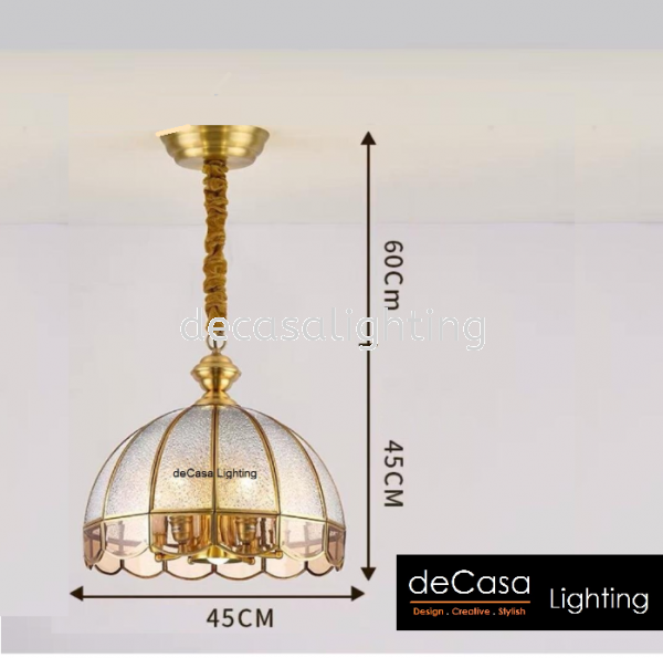 MODERN CLASSIC GOLD PENDANT LIGHT Antique Pendant Light PENDANT LIGHT Selangor, Kuala Lumpur (KL), Puchong, Malaysia Supplier, Suppliers, Supply, Supplies   Decasa Lighting Sdn Bhd