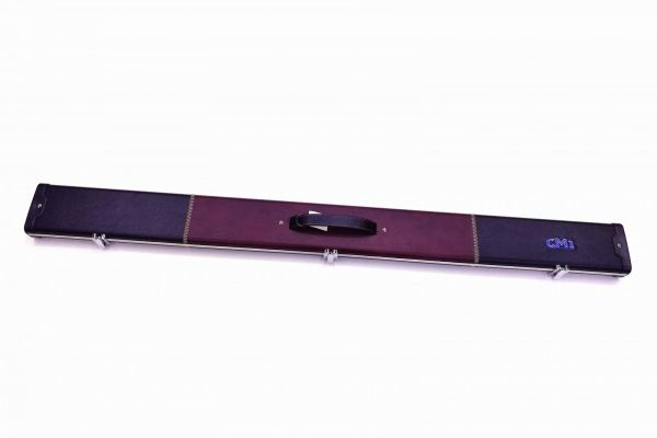 3/4 BURGUNDY-BLACK SNOOKER CUE CASE (2 CUES) CUE CASE Kuala Lumpur (KL), Malaysia, Selangor Supplier, Wholesale, Supply, Supplies | CUE STATION