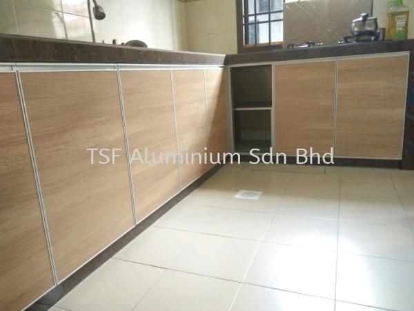 Kitchen Cabinet Johor Bahru (JB), Malaysia, Mount Austin Supplier, Installation, Design, Contractor | TSF Aluminium Sdn Bhd
