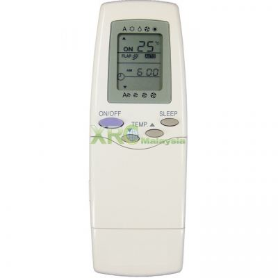 REL-0601NPEXHL CARRIER AIR CONDITIONING REMOTE CONTROL