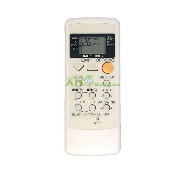 A75C2378 PANASONIC AIR CONDITIONING REMOTE CONTROL  PANASONIC AIR CONDITIONING REMOTE CONTROL Johor Bahru JB Malaysia Manufacturer & Supplier | XET Sales & Services Sdn Bhd