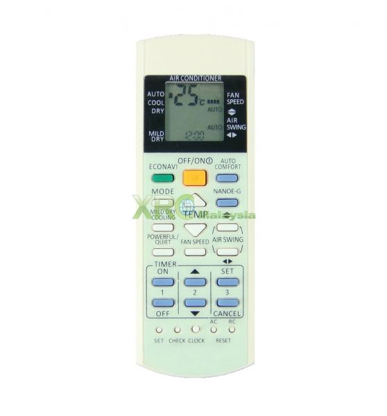 A75C3370 PANASONIC AIR CONDITIONING REMOTE CONTROL  PANASONIC AIR CONDITIONING REMOTE CONTROL Johor Bahru JB Malaysia Manufacturer & Supplier   XET Sales & Services Sdn Bhd