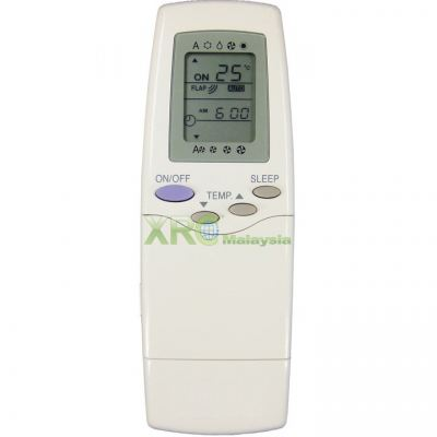 RFL-0301EL CARRIER AIR CONDITIONING REMOTE CONTROL