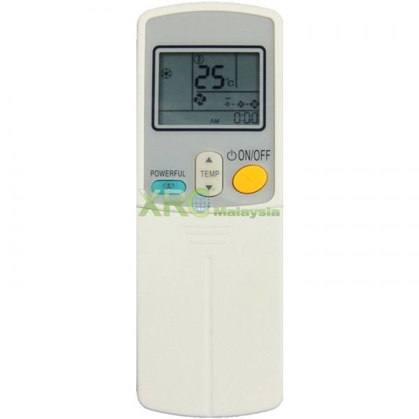 ARC412A3 DAIKIN AIR CONDITIONING REMOTE CONTROL  DAIKIN AIR CONDITIONING REMOTE CONTROL Johor Bahru JB Malaysia Manufacturer & Supplier | XET Sales & Services Sdn Bhd