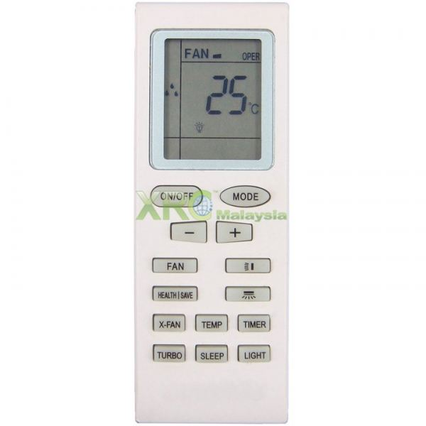 YB1F2 GREE AIR CONDITIONING REMOTE CONTROL GREE AIR CONDITIONING REMOTE CONTROL Johor Bahru JB Malaysia Manufacturer & Supplier | XET Sales & Services Sdn Bhd