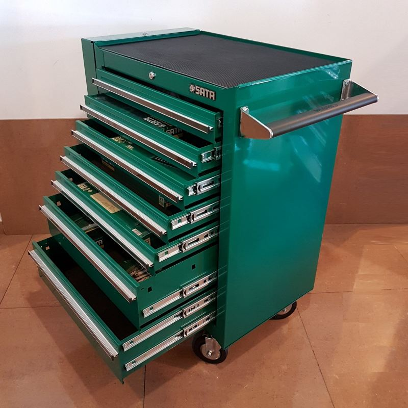 Sata S.A.E ( inches tools)95107P12 7-Drawer Tools Trolley With Tools ID118301