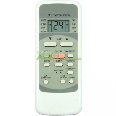 MAC-10IMR MISTRAL AIR CONDITIONING REMOTE CONTROL