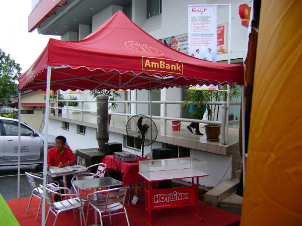 AmBank Booth Pahang, Malaysia, Kuantan Supplier, Suppliers, Supply, Supplies | Yes Events And Branding Sdn Bhd