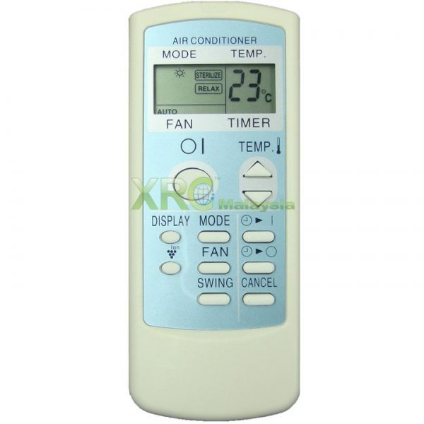 CRMC-A562JBEZ SHARP AIR CONDITIONING REMOTE CONTROL  SHARP AIR CONDITIONING REMOTE CONTROL Johor Bahru JB Malaysia Manufacturer & Supplier   XET Sales & Services Sdn Bhd