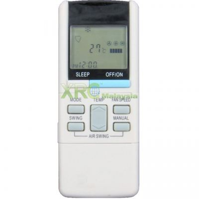 SAC6204 SINGER AIR CONDITIONING REMOTE CONTROL