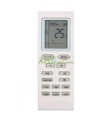 YB1F2 FUJIAIRE AIR CONDITIONING REMOTE CONTROL