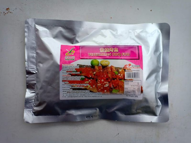 Vegetarian BBQ Fish Frozen Series Singapore, Malaysia Supplier, Suppliers, Supply, Supplies | VEGETALK FOOD SUPPLIES PTE LTD