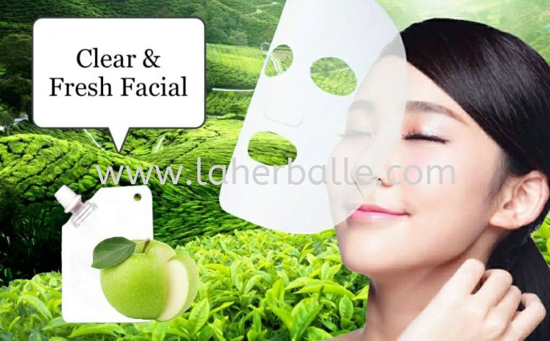 Facial Mask : Clear & Fresh Mask Rm148 Facial Treatment In-House Treatment Kuala Lumpur (KL), Selangor, Penang, Malaysia Supplier, Suppliers, Supply, Supplies | La Herballe