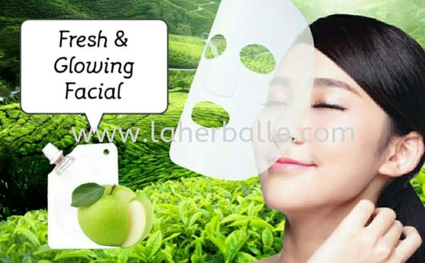 Intensive Mask : Fresh & Glowing Mask Rm298 Facial Treatment In-House Treatment Kuala Lumpur (KL), Selangor, Penang, Malaysia Supplier, Suppliers, Supply, Supplies | La Herballe