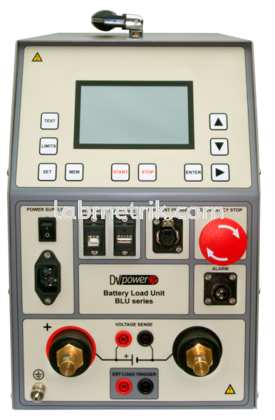 BLU110T Battery Load Unit (Tester & Discharge) Battery Test Equipment DV Power Kuala Lumpur (KL), Malaysia, Selangor Supplier, Suppliers, Supply, Supplies | Labmetrik Electrical Sdn Bhd