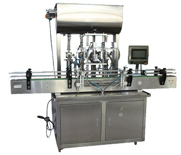FULLY AUTOMATIC LINEAR TYPE FOUR NOZZLE LIQUID AND PASTE FILLING MACHINE  paste filling machine Filling Machine Seri Kembangan, Selangor, Kuala Lumpur, KL, Malaysia. Supplier, Manufacturer, Repair | IAE Industries Trading & Services
