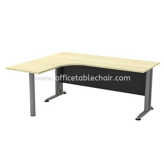 L-SHAPE TABLE METAL J-LEG & METAL POLE-LEG TL 1515-M T2 Series Executive Table Kuala Lumpur (KL), Malaysia, Selangor, Petaling Jaya (PJ) Supplier, Suppliers, Supply, Supplies | Asiastar Furniture Trading Sdn Bhd