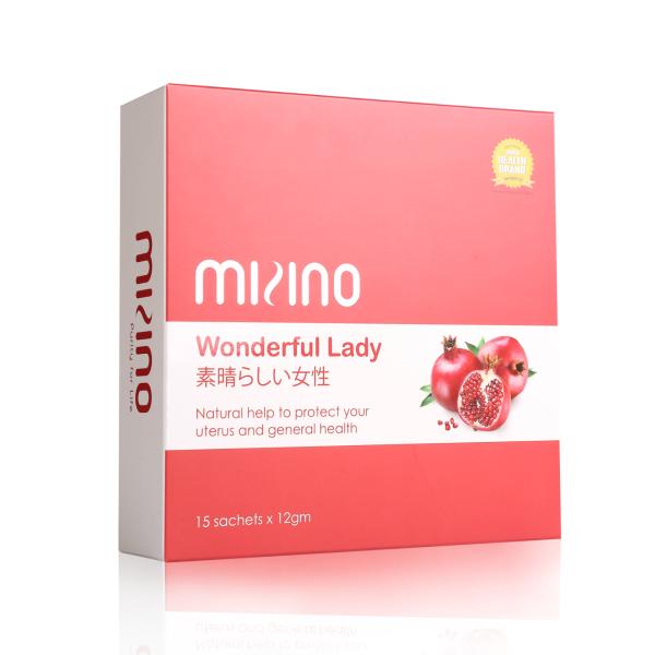 Mizino Wonderful Lady Sachet Health Care Selangor, Malaysia, Kuala Lumpur (KL), Balakong Supplier, Suppliers, Supply, Supplies | Mizino Biocare Sdn Bhd