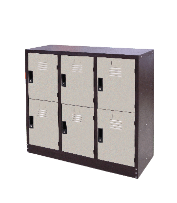 6 Compartments Steel Locker - Half Height  Steel Locker  Steel  Office Furniture Nilai, Malaysia, Negeri Sembilan Supplier, Suppliers, Supply, Supplies | Nilai Meng Trading