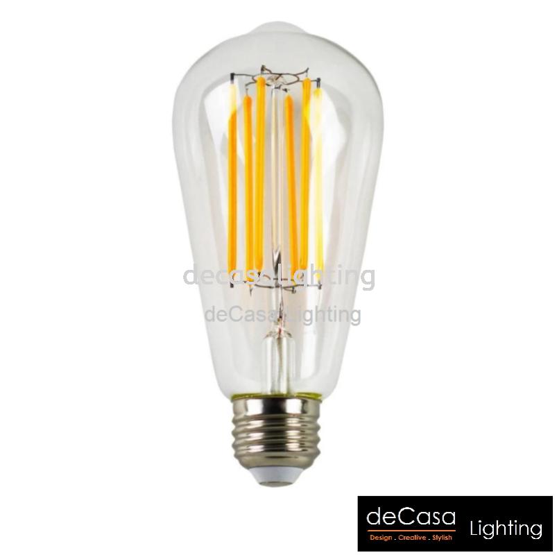 LED EDISON BULB-8W-ST64