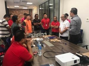 Technical Training with Sunsuria Staff