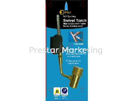 PRO SWIVEL TORCH WITH IGNITION