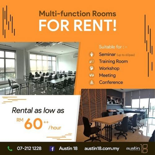 Multi-Fuction Room Available For You !