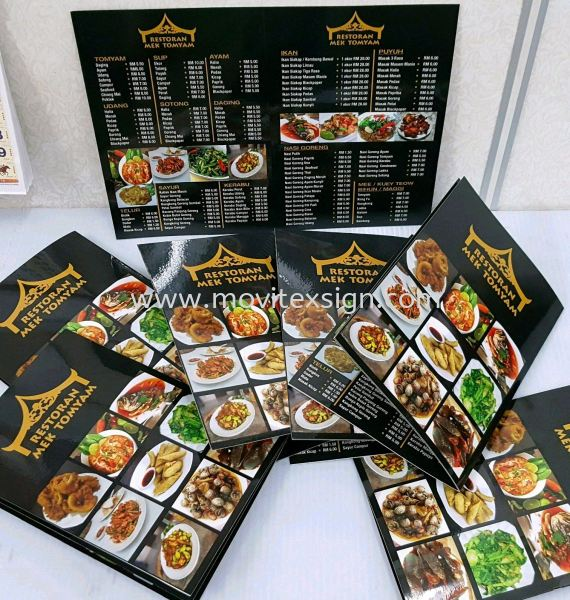 manu book or products catalogs printing book Food Supplies Printing Johor Bahru (JB), Johor, Malaysia. Design, Supplier, Manufacturers, Suppliers | M-Movitexsign Advertising Art & Print Sdn Bhd