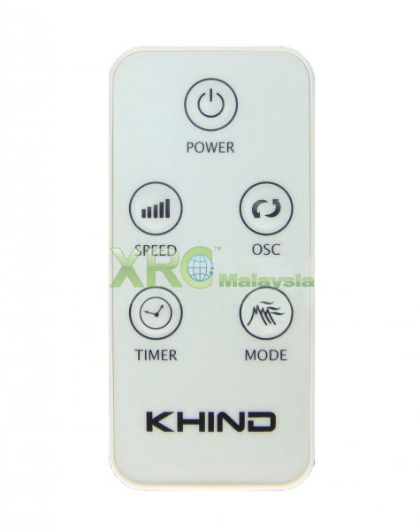 FD 7561R KHIND 塔式风扇遥控器 KHIND 风扇遥控器   Manufacturer & Supplier | XET Sales & Services Sdn Bhd